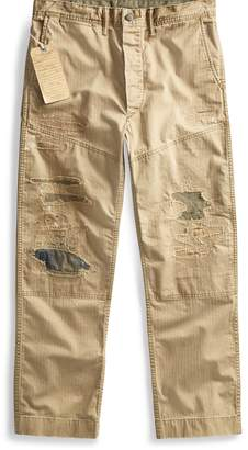 Ralph Lauren Distressed Herringbone Pant