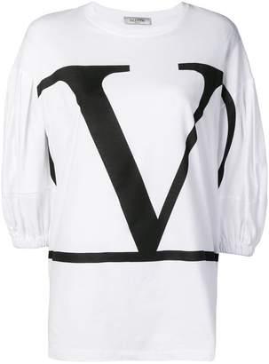 Valentino V logo-print T-shirt