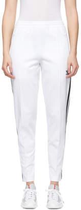 adidas White Franz Beckenbauer Track Pants