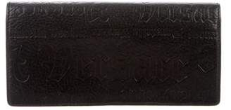 Versace Embossed Leather Wallet