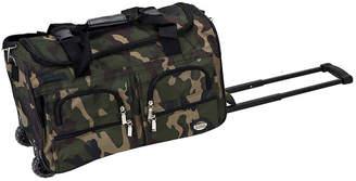 Rockland 22 Rolling Duffel Bag-Camo