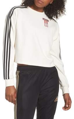 adidas Crop Sweatshirt