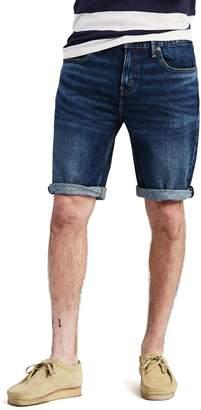 1351a5ad Levi's Levis Men's 502 Rolled-Hem Denim Shorts