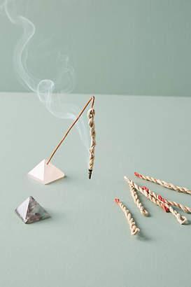 The Vacant Seat Crystal Pyramid Incense Set