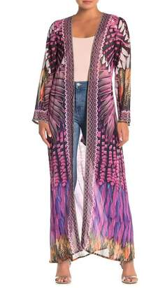 Shahida Parides Long Sleeve Maxi Duster
