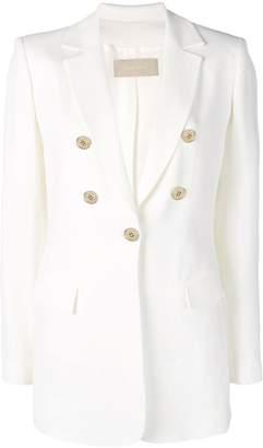 Elie Saab tailored buttoned blazer