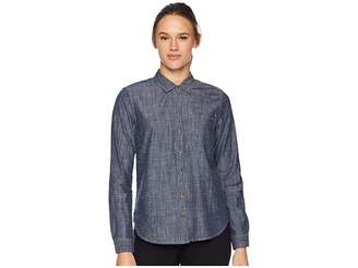 Toad&Co Chambray Slub Long Sleeve Shirt