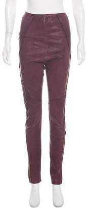 Isabel Marant Leather Skinny Pants