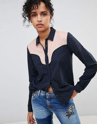 Pepe Jeans Paula Western Style Shirt
