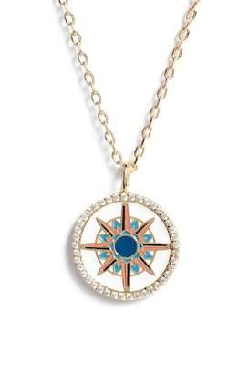 Lulu DK Reversible Enamel Pendant Necklace