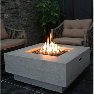 Elementi Manhattan Concrete Fire Pit Table Fuel Type: Natural Gas