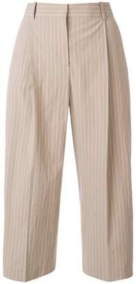 Fabiana Filippi pinstripe cropped trousers
