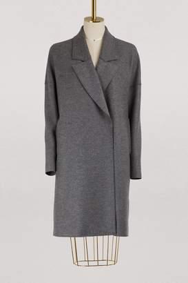Harris Wharf London Virgin wool oversized coat