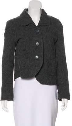 Nina Ricci Wool Button-Up Jacket