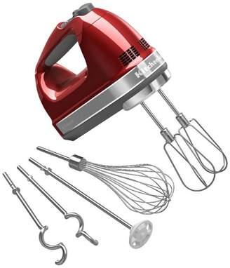 KITCH 9-Speed Hand Mixer With Turbo Beater II Accessories