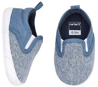 Carter's Boys' Slip Crib Shoe