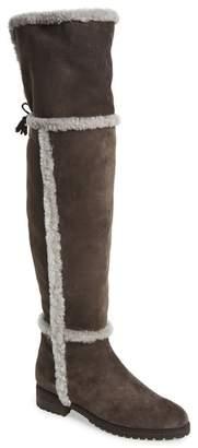 Frye Tamara Genuine Shearling Lined Over-the-Knee Boot