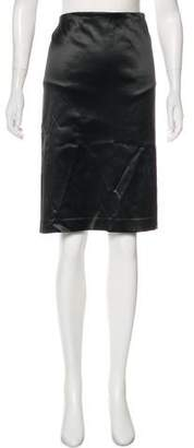Missoni Sateen Knee-Length Skirt