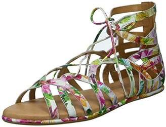 5ba77358a53 Gentle Souls by Kenneth Cole Women s Break My Heart Gladiator Lace-up  Sandal Sandal