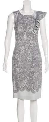 Emilio Pucci Lace Printed Knee-Length Dress
