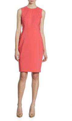 Calvin Klein Cotton Sheath Dress
