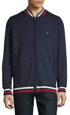 Tommy Hilfiger Basic Baseball Collar Sweater