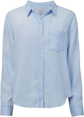 Rails Ingrid Light Vintage Raw Hem Shirt