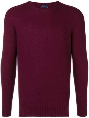 Drumohr crew neck brushed sweater