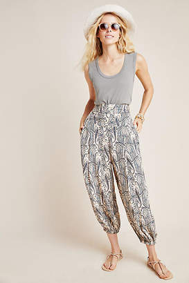 Anthropologie Printed Harem Pants