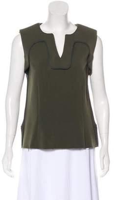 Marni Sleeveless Wool Top