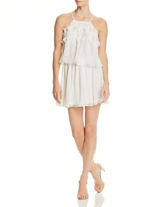 Ramy Brook Shauna Pleated Mini Dress