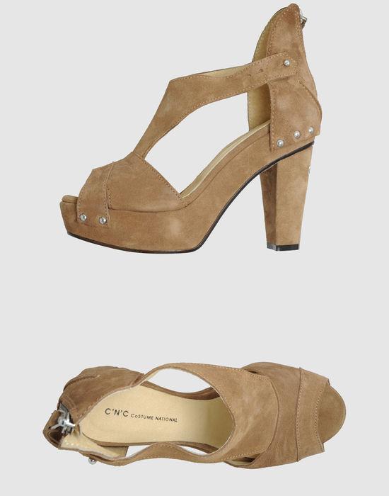 C'N'C' COSTUME NATIONAL Platform sandals