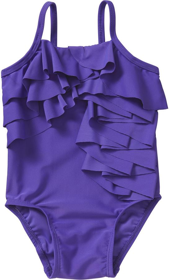 Old Navy Tiered-Ruffle Swimsuits for Baby