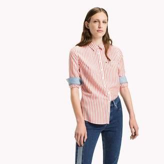 Tommy Hilfiger Tencel Blend Striped Shirt