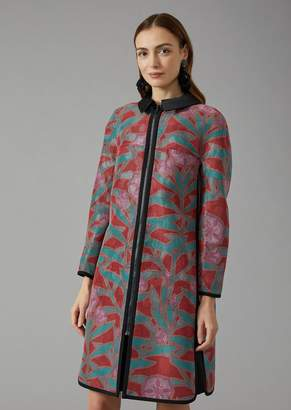 Giorgio Armani Reversible Silk Coat