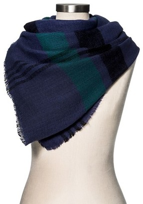 Merona Women's Blanket Scarf Exploded Black Watch Plaid - Merona $19.99 thestylecure.com