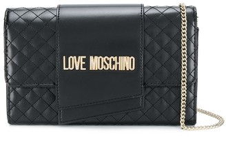 Love Moschino quilted chain-strap bag