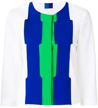 Capucci colour-block jacket