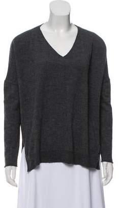 Nili Lotan Wool V-Neck Sweater