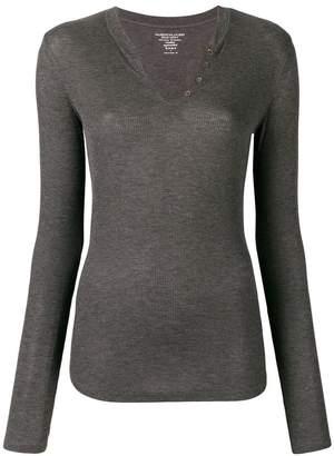 Majestic Filatures V-neck knit top