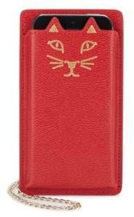 Charlotte Olympia Feline iPhone 5 Leather Case