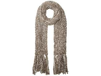 San Diego Hat Company BSS3656 Chunky Knit Scarf with Fringe