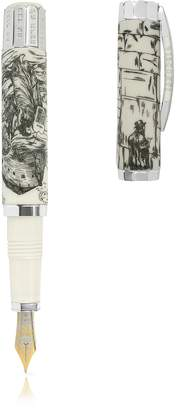 Visconti The Jewish Bible Silver - Limited Edition Fountain Pen