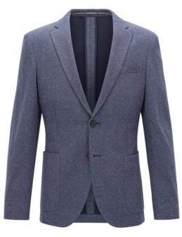 BOSS Hugo Tailoring Jersey Sport Coat, Slim Fit Newon J 36R Light Blue