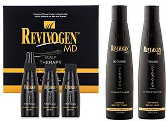 Revivogen MD Scalp Therapy Thinning Hair Solution Shampoo & Conditioner Set