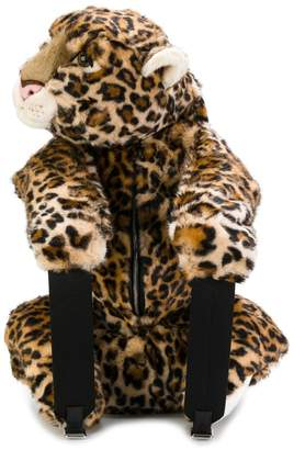 Dolce & Gabbana Leopard stuffed toy backpack