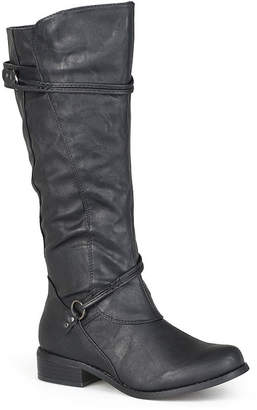 Journee Collection Harley Extra Wide Calf Riding Boots