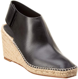 Celine Espadrille 85 Frame Toe Leather Bootie