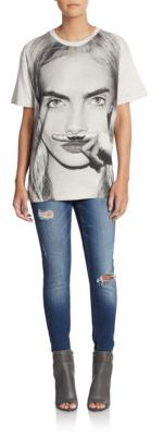 Model Graphic Tee $67 thestylecure.com