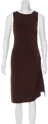 MICHAEL Michael Kors Sleeveless Ruched Dress